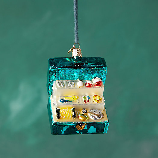 View larger image of Tackle Box Glass Ornament