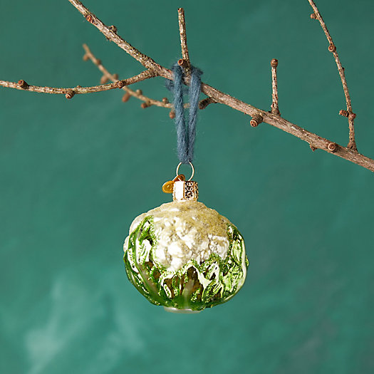 View larger image of Cauliflower Glass Ornament