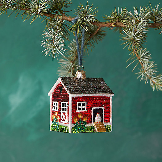 View larger image of Chicken Coop Glass Ornament