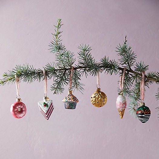 View larger image of Mini Dessert Glass Ornaments, Set of 6