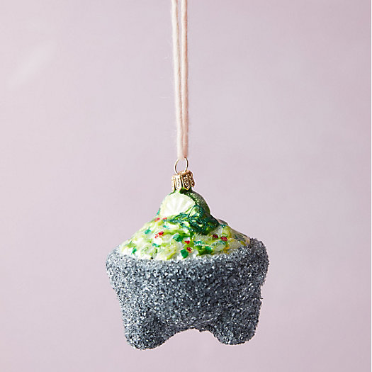 View larger image of Fresh Guacamole Glass Ornament