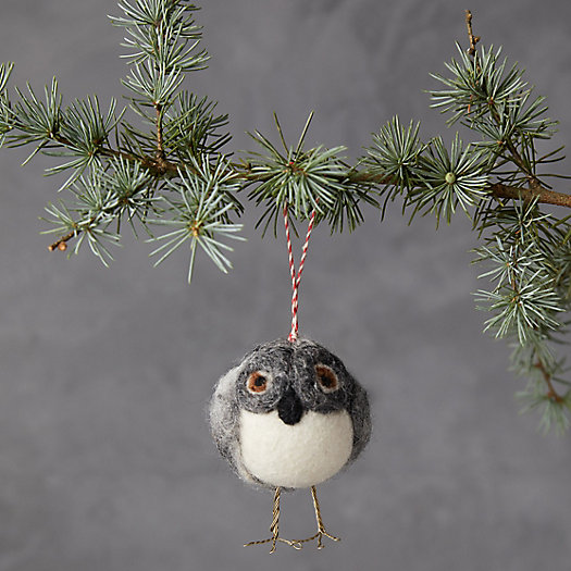 View larger image of Owl Felt Ornament