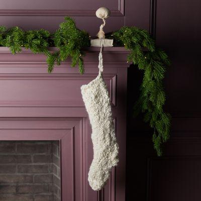 Chunky Knit Wool Stocking
