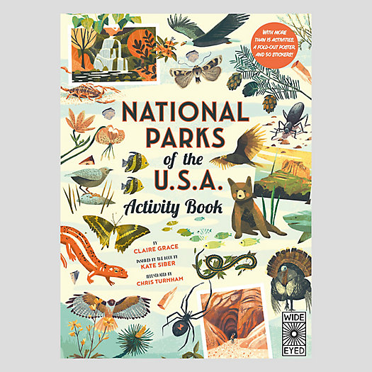 View larger image of National Parks of the USA Activity Book