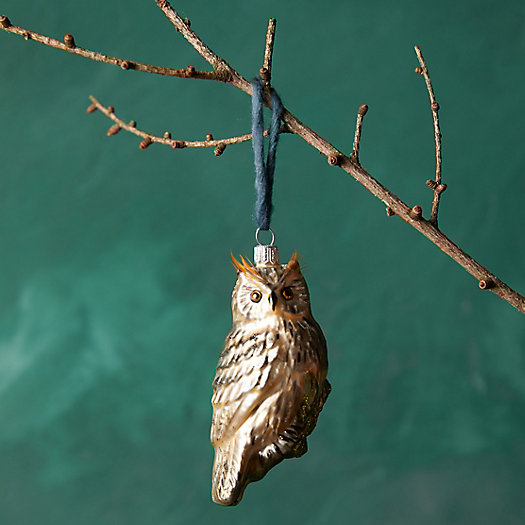 View larger image of Hoot Owl Glass Ornament