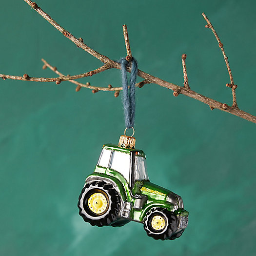 View larger image of Tractor Glass Ornament