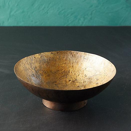 View larger image of Blackened Gold Presentation Bowl