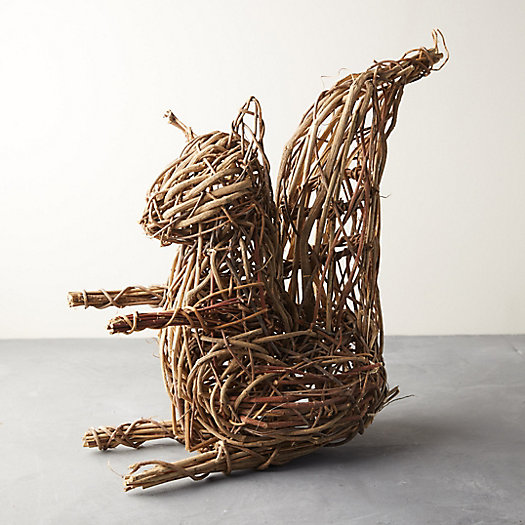 View larger image of Wicker Squirrel
