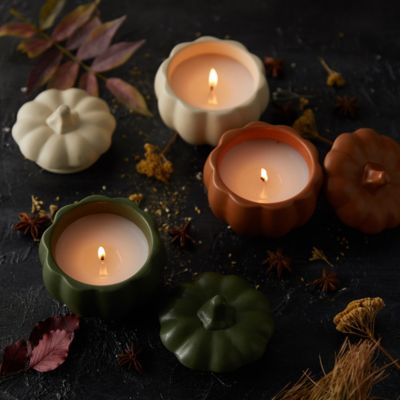 Rosy Rings Harvest Candle, Pumpkin