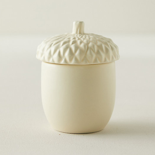 View larger image of Rosy Rings Harvest Candle, Acorn