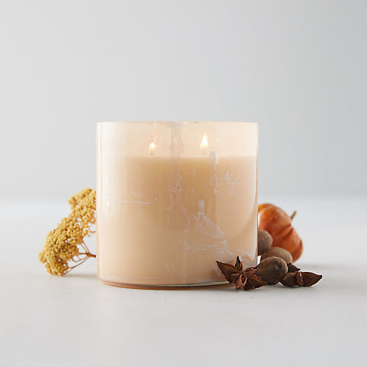 View larger image of Linnea's Lights Marble Candle, Gather