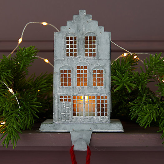 View larger image of Concordville Zinc House Stocking Holder