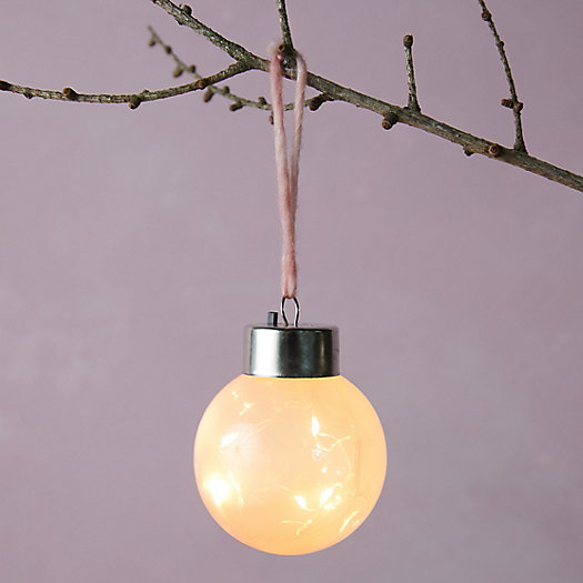 """View larger image of Colorful LED Globe Ornament, 3"""""""