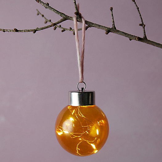 View larger image of Colorful LED Globe Ornament, 3""