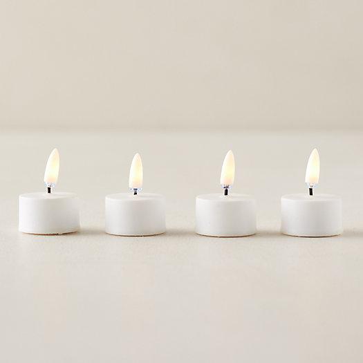 View larger image of Flameless Tea Lights, Set of 4