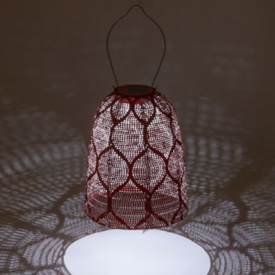 Bell Lace Solar Lantern
