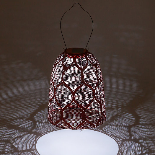 View larger image of Bell Lace Solar Lantern