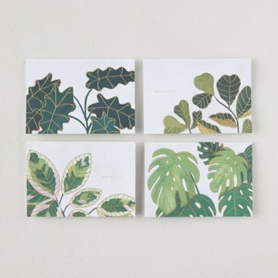Plants Pop Up Cards, Set of 8