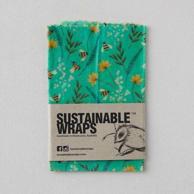 Reusable Beeswax Food Storage Wrap, Small
