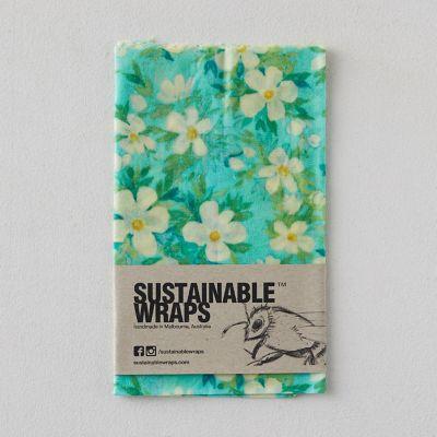 Reusable Beeswax Food Storage Wrap, Large