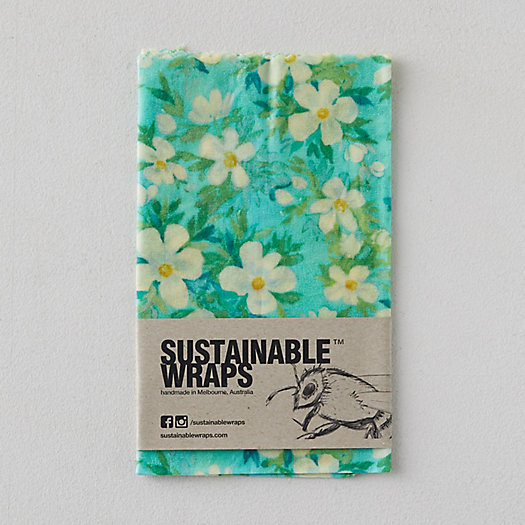 View larger image of Reusable Beeswax Food Storage Wrap, Large