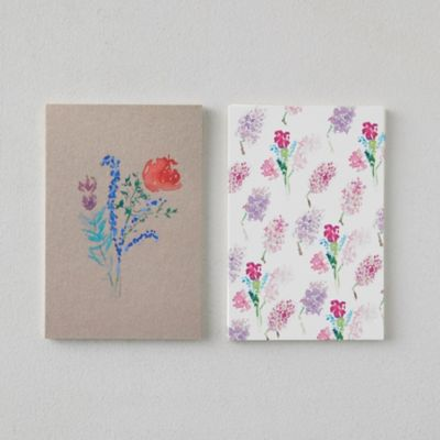Pink Florals Postcards, Set of 20