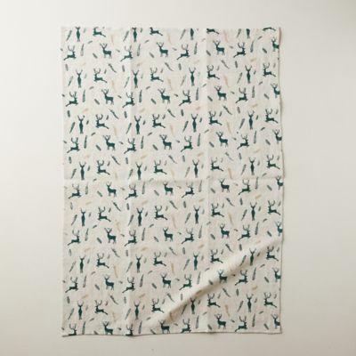 Reindeer Tea Towel