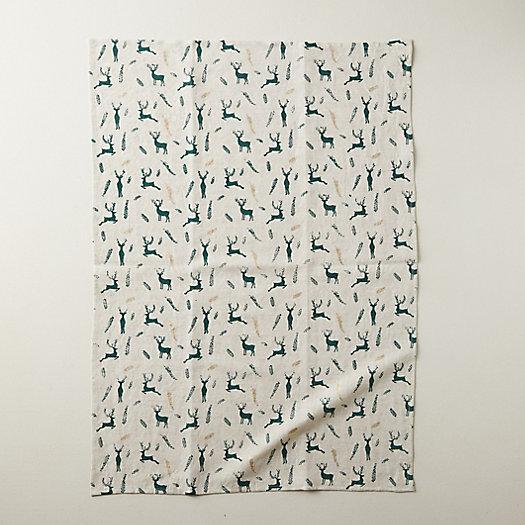 View larger image of Reindeer Tea Towel