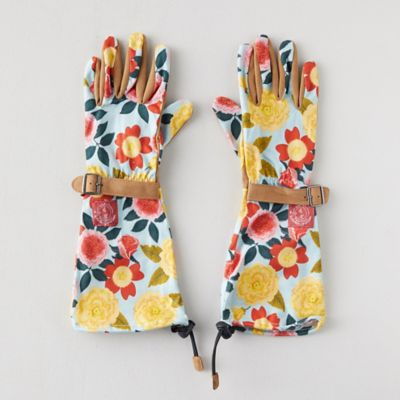 Heirloom Garden Arm Saver Gloves