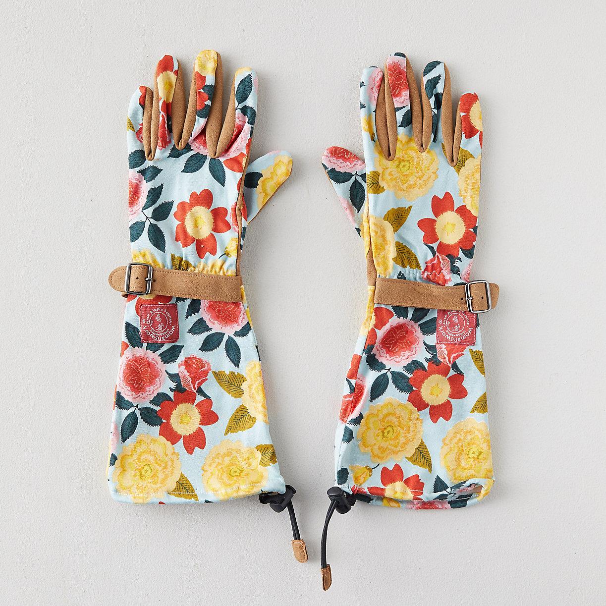 Heirloom Garden Arm Saver Gloves
