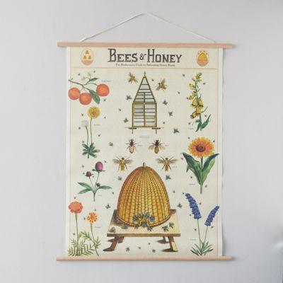Honey Bees Poster + Frame