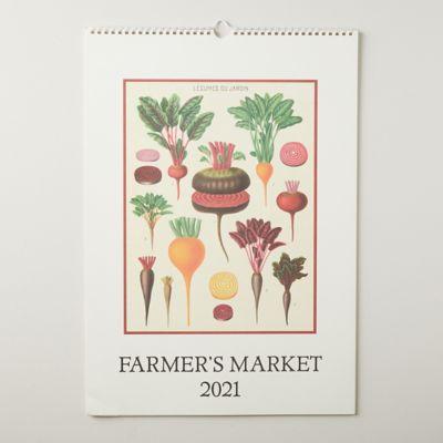 Farmer's Market 2021 Wall Calendar
