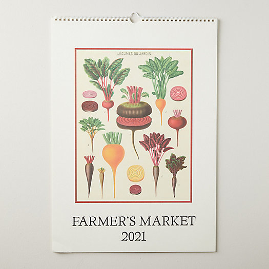View larger image of Farmer's Market 2021 Wall Calendar