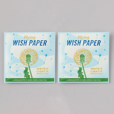 Dandelion Flying Wish Papers, Set of 2