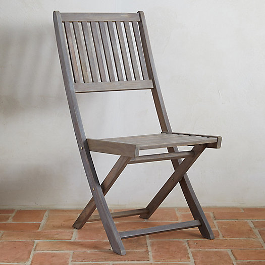 View larger image of Folding Teak Side Chair