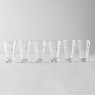 Bee Highball Glasses, Set of 6