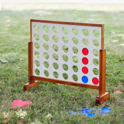 Oversized Connect Four Yard Game