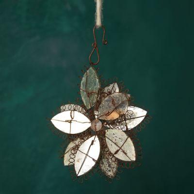 Mirrored Flower Ornament