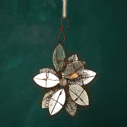 View larger image of Mirrored Flower Ornament