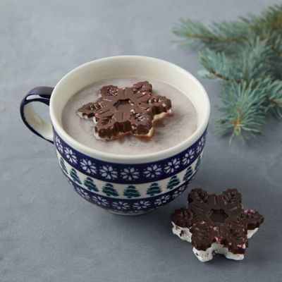 Chocolate Snowflake Marshmallows