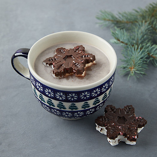 View larger image of Chocolate Snowflake Marshmallows