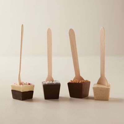 Hot Cocoa Stir Spoons, Set of 4