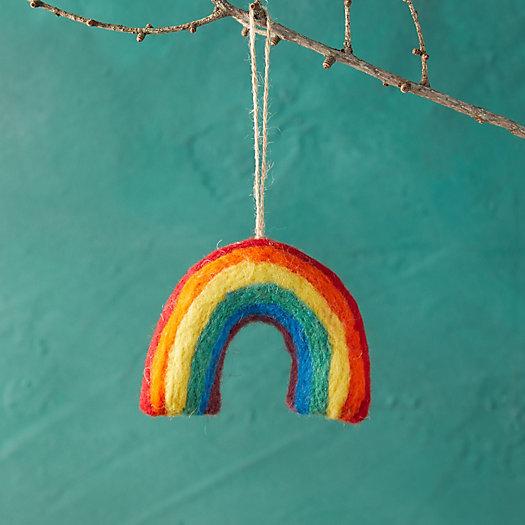 View larger image of Rainbow Felt Ornament