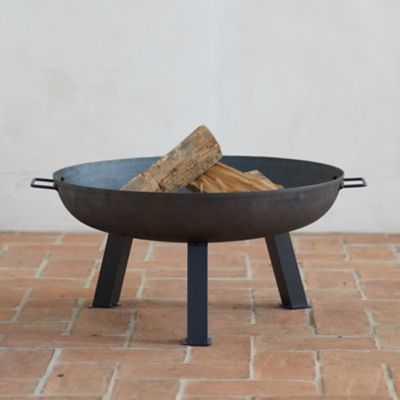 Square Leg Steel Fire Pit