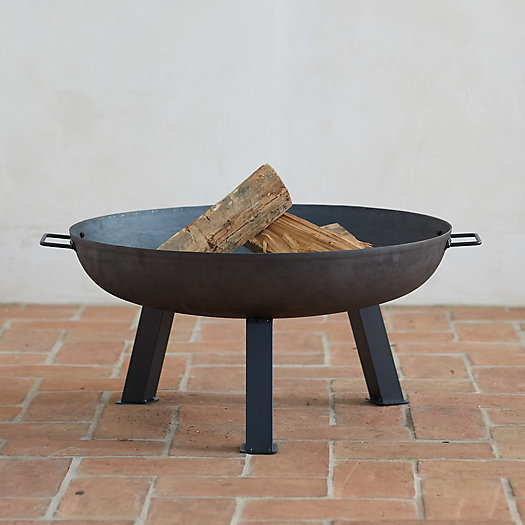 View larger image of Square Leg Steel Fire Pit