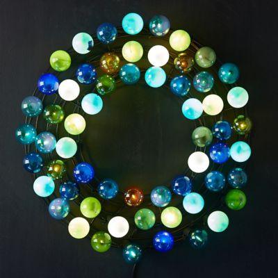 Stargazer Garden Lights Socket Wreath