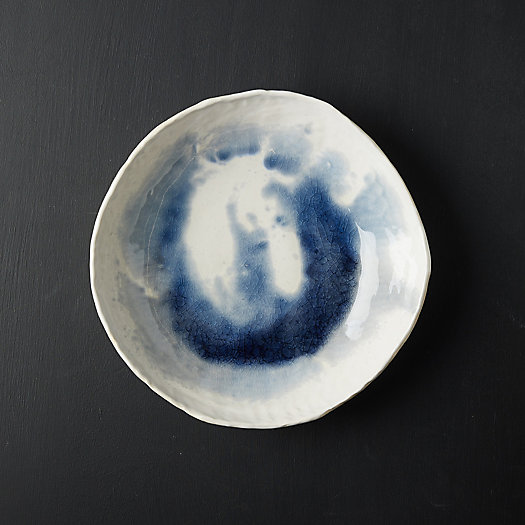 View larger image of Source and Tradition Washed Blue Serving Collection