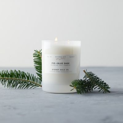 Sydney Hale Candle, Fir + Blue Sage