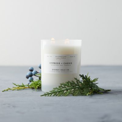 Sydney Hale Candle, Cypress + Cassis