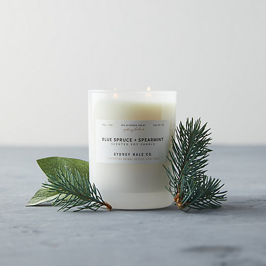 View larger image of Sydney Hale Candle, Blue Spruce + Spearmint